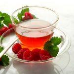 Чай из листьев малины для чистой кожи и здоровья